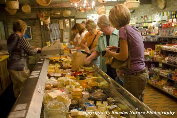 Cheese Factory and store, Kalona IA