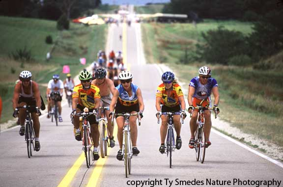 RAGBRAI bike ride across Iowa