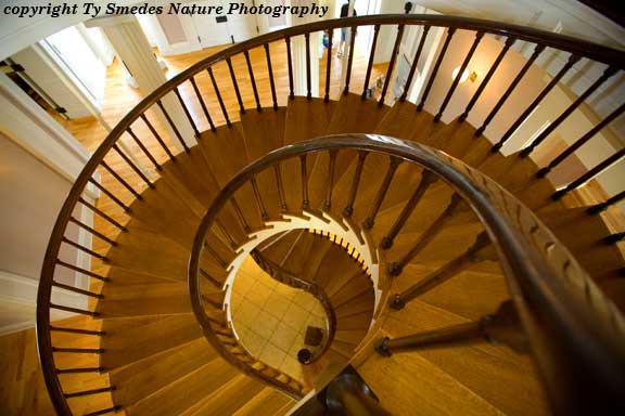 Spiral Staircase, Old Capitol, Iowa City Iowa